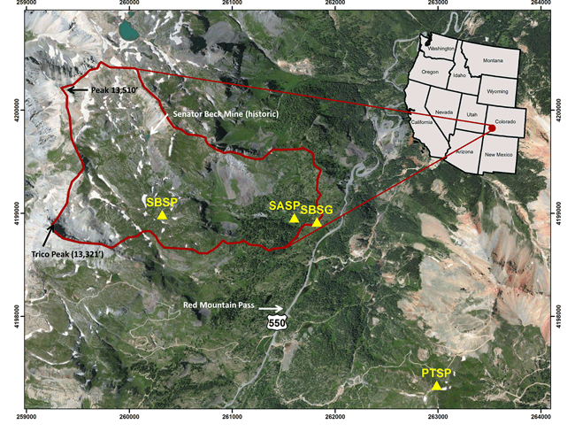 Overview of Senator Beck Basin Study Area
