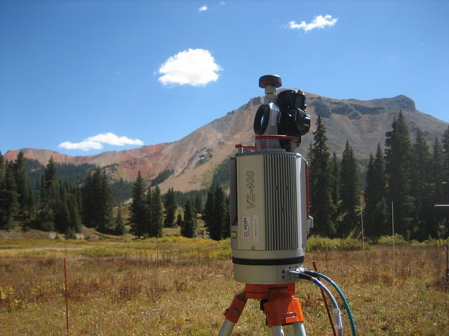 LIDAR survey in Senator Beck Basin